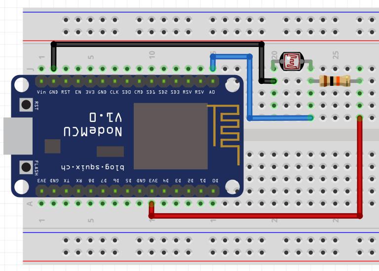 NodeMCU ESP8266 / ESP8285 Arduino #8 NodeMCU ESP8266 LDR ใช้ nodemcu วัดความสว่างด้วย LDR