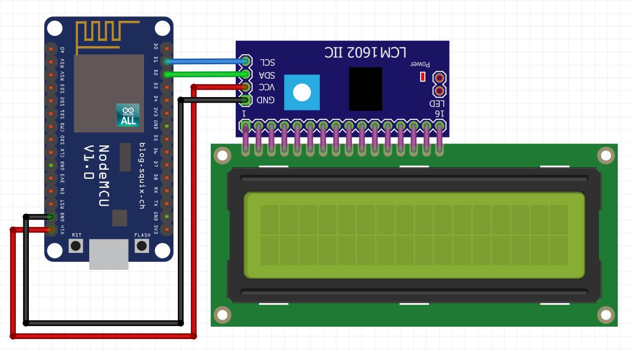 NodeMCU ESP8266 / ESP8285 Arduino #16 ESP8266 LCD I2C NodeMCU :ใช้