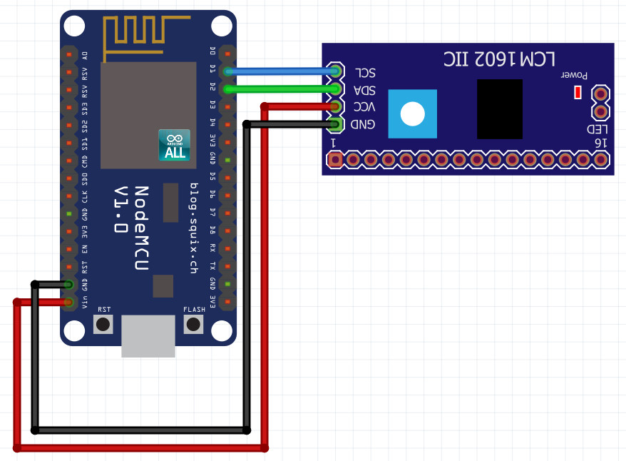 NodeMCU ESP8266 / ESP8285 Arduino #1์4 NodeMCU ESP8266 I2C Scan : ESP8266 nodemcu หา Address I2C Arduino ESP8266
